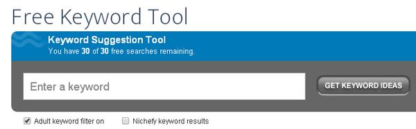 Wordstream Free Keyword Tool picture