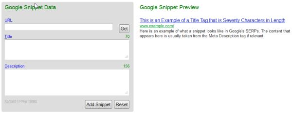 google snippet preview picture